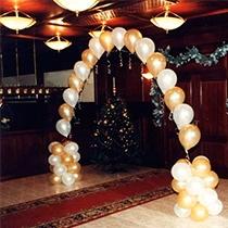 Гелиевые цепочки из шаров для самого красивого праздника