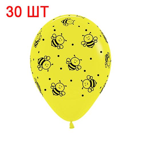 30 шаров с пчёлками