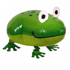 """Купить ходячий шарик на день рождение ребенку """"Лягушка зеленая"""" в интернет-магазине Шары-и-Шарики.ру"""