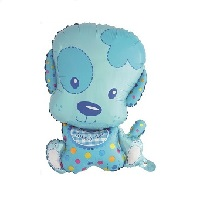 """Купить фольгированный шар на праздник """"Маленький щенок мальчик 71 см""""в интернет-магазине Шары-и-Шарики.ру"""