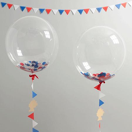 Большие прозрачные шары