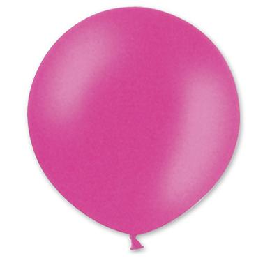 Большой розовый шар