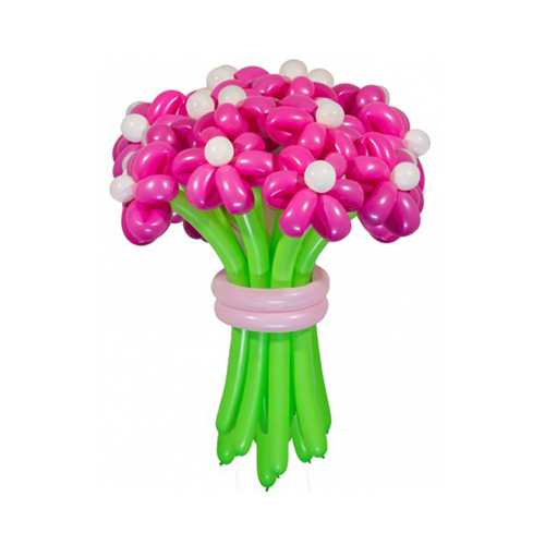 Букет розовые ромашки