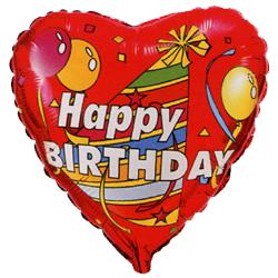 На день рождения - шарик