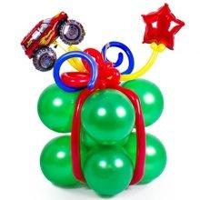 Композиция из шариков «Подарок»