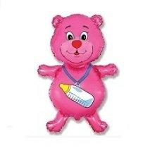 Медвежонок девочка розовый