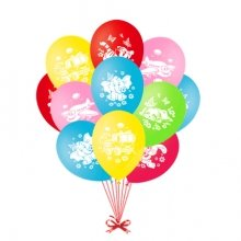 Воздушные шарики «Назад в детство»