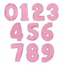 Розовые цифры со звёздочками