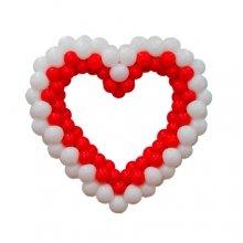 Сердце двухцветное