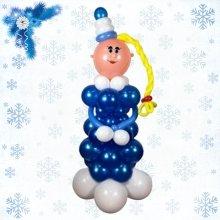 Снегурочка с косичкой
