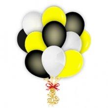 Связка Черный-желтый-белый