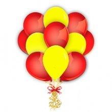 Связка из шаров двух цветов