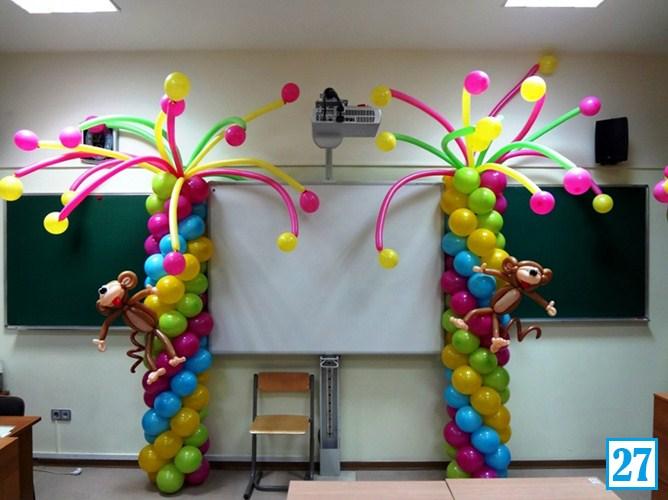 Оформление на 1 сентября в школе