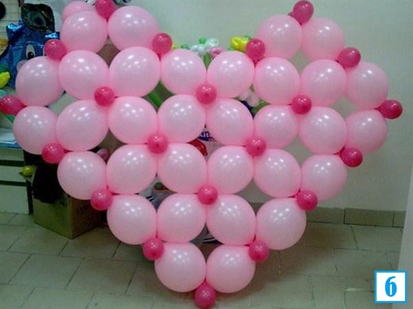 Как сделать сердце из шаров без каркаса на свадьбу - Cafesiren.ru